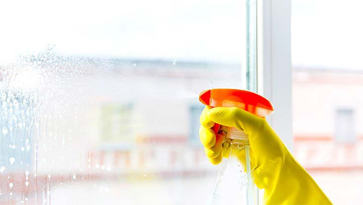 Janitorial Cleaning Services - Window Cleaning